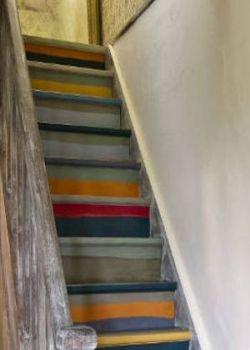 trap met oude look