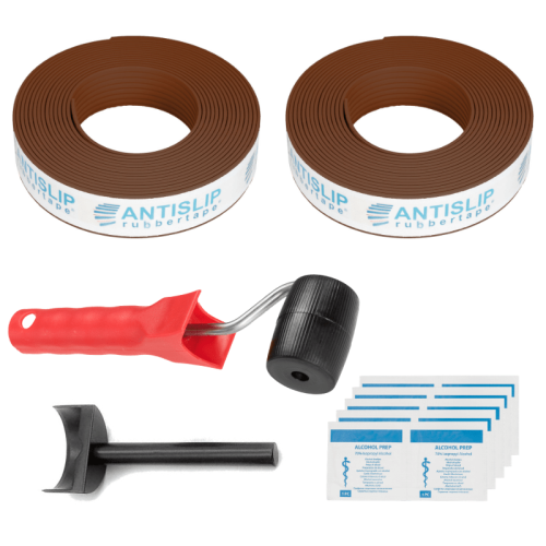 antislip strip doe het zelf set koper parel