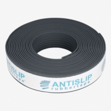 | Antislip rubber strip 5mtr zelfklevend antraciet